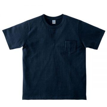 ポケット付き7.1オンスTシャツ8.ネイビー
