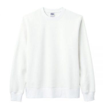 10オンス クルーネックトレーナー015.ホワイト