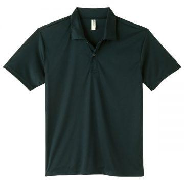 3.5オンスインターロックドライポロシャツ005.ブラック