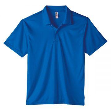 3.5オンスインターロックドライポロシャツ032.ロイヤルブルー