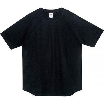 ヘビーウエイトラグランTシャツ005.ブラック