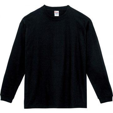 スーパーヘビー長袖Tシャツ005.ブラック