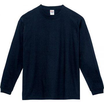 スーパーヘビー長袖Tシャツ031.ネイビー