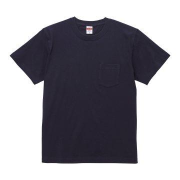 ハイクオリティTシャツ(ポケット付)086.ネイビー