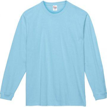 スーパーヘビー長袖Tシャツ133.ライトブルー