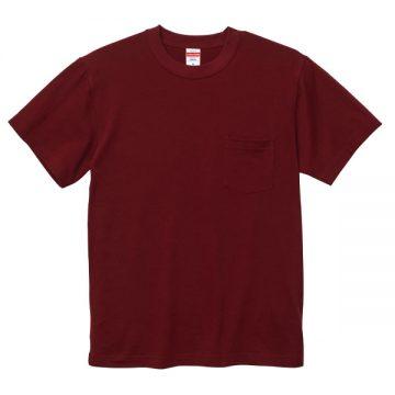 ハイクオリティTシャツ(ポケット付)072.バーガンディ