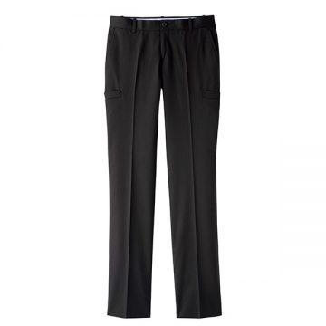 レディスサイドポケットパンツ16.ブラック