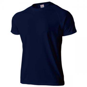 超軽量ドライラグランTシャツ01.ネイビー