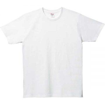 5.0オンスベーシックTシャツ001.ホワイト