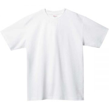 5.8オンスT/CクルーネックTシャツ001.ホワイト