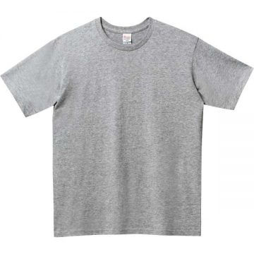 5.0オンスベーシックTシャツ003.杢グレー