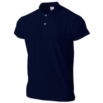 超軽量ドライラグランポロシャツ01.ネイビー