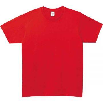 5.0オンスベーシックTシャツ010.レッド