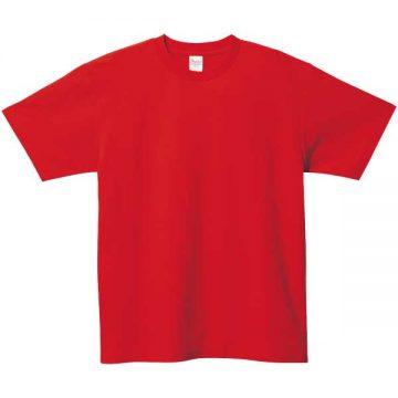 5.8オンスT/CクルーネックTシャツ010.レッド