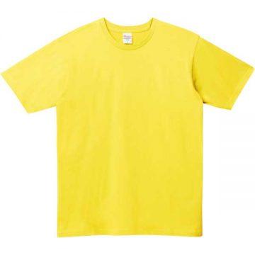 5.0オンスベーシックTシャツ020.イエロー
