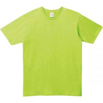 5.0オンスベーシックTシャツ024.ライトグリーン
