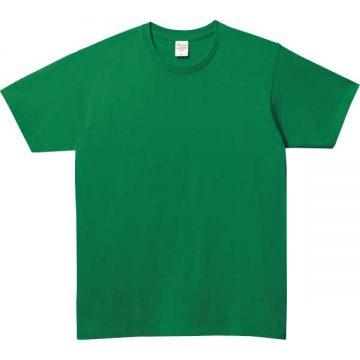 5.0オンスベーシックTシャツ025.グリーン