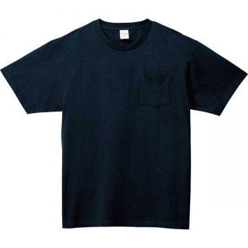 5.6オンスヘビーウェイトポケットTシャツ031.ネイビー
