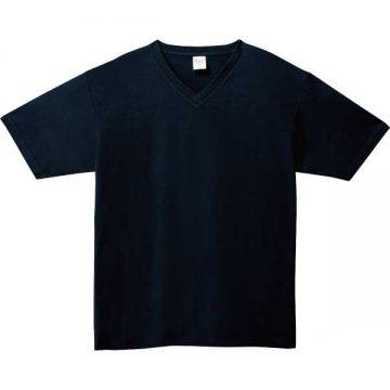 5.6オンスヘビーウェイトVネックTシャツ031.ネイビー