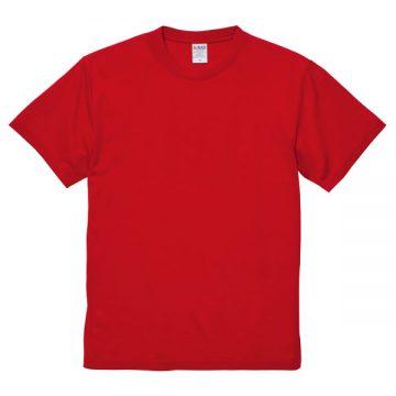 5.6オンスドライコットンタッチTシャツ(ノンブリード)069.レッド