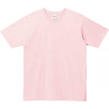 5.0オンスベーシックTシャツ132.ライトピンク
