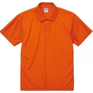 4.7オンススペシャルドライカノコポロシャツ064.オレンジ
