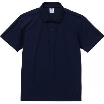 4.7オンススペシャルドライカノコポロシャツ086.ネイビー