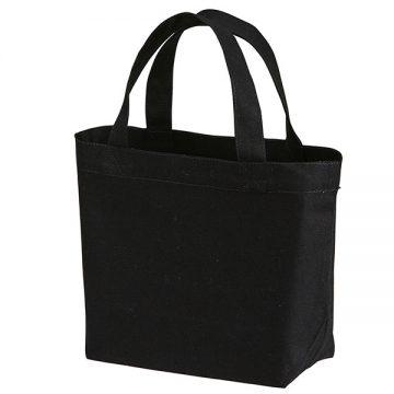 スタンダードキャンバストートバッグSサイズ002.ブラック