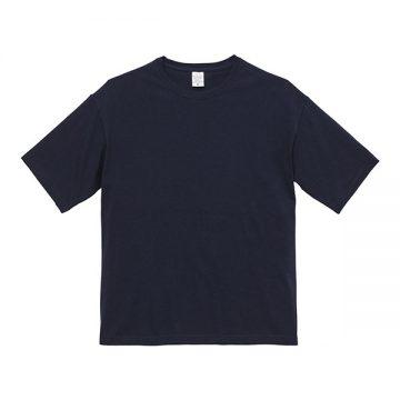 ビッグシルエットTシャツ086.ネイビー