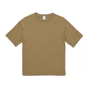 ビッグシルエットTシャツ537.サンドカーキ